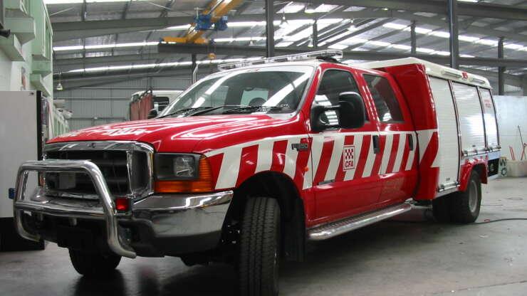 CFA 1 Fire Truck