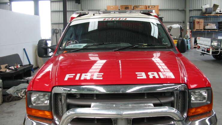 CFA 5 Fire Truck