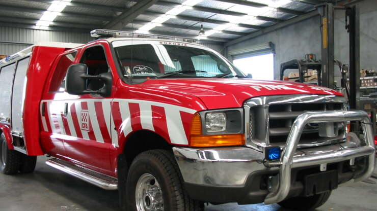 CFA 6 Fire Truck