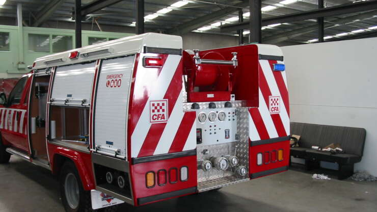 CFA 7 Fire Truck