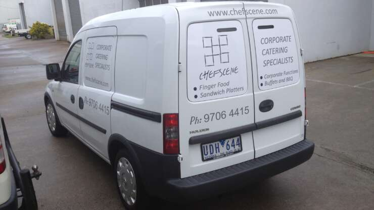 Corporate Catering Specialist Car CHEFSCENE2