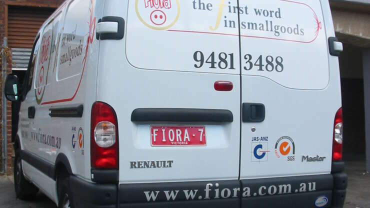 Fiora Van The first word in small goods