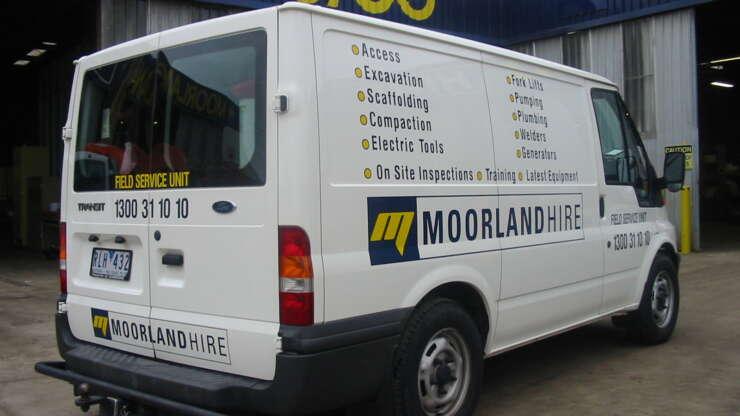 MOORLANDHire Van 5