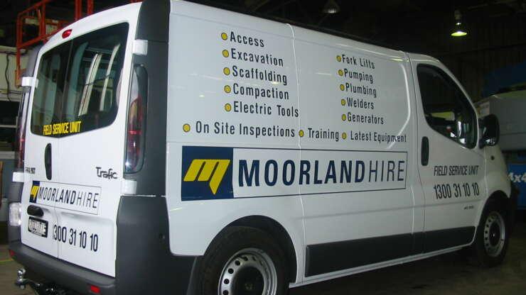 MOORLANDHire Van 7