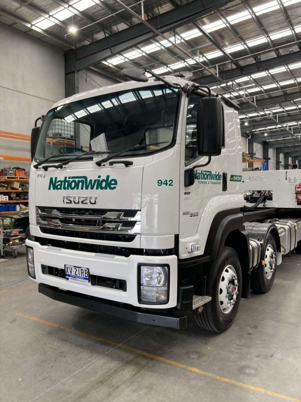 Nationwide Scaled Tow Truck Australian Signmakers