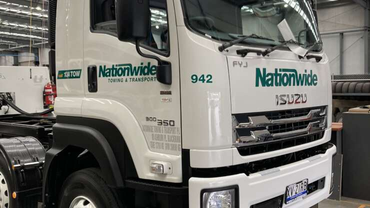Nationwide1 Scaled Tow Truck Australian Signmakers