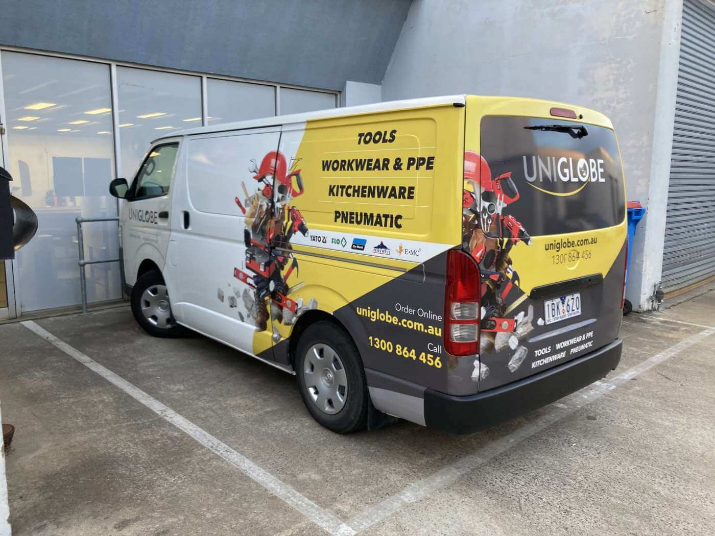 Uniglobe-Van-Wrap-scaled Australian Signmakers